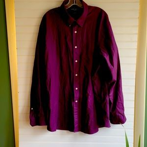 MEN Daniel Crimeieux purple long sleeves shirt
